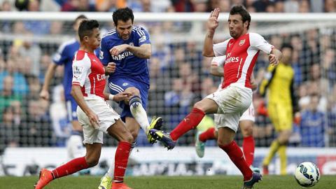 Sanchez, Oezil và Fabregas không phải là cầu thủ bị 'chặt chém' nhiều nhất ở giải Ngoại hạng