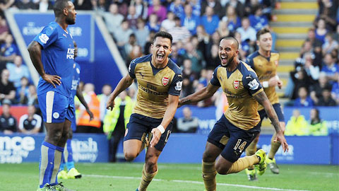 Leicester 2-5 Arsenal: Dập tắt hiện tượng