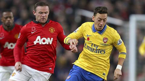 """Bệnh """"sợ đại chiến"""" khiến Arsenal gặp khó trước M.U"""