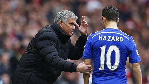 Hazard có thể mất vị trí ở Chelsea vì đá kém