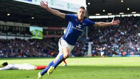 Jamie Vardy dựng nghiệp từ… bóng đá phong trào