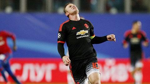 Van Gaal úp mở về vị trí tiền đạo của Rooney