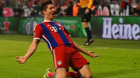 Real âm thầm nhắm Lewandowski