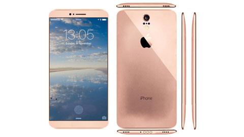 iPhone 7 concept có cảm biến vân tay ngay trên màn hình
