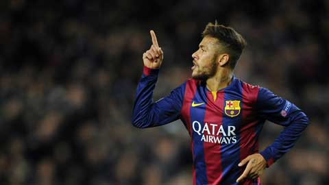Neymar quyết định El Clasico