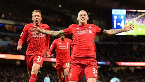 Man City 1-4 Liverpool: Hạ knock-out cựu vương