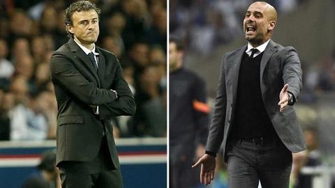 Enrique và Guardiola, những HLV tham lam