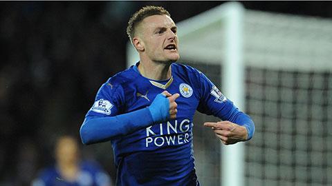 Leicester 1-1 M.U: Vardy đi vào lịch sử