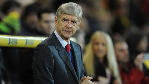 HLV Wenger vẫn bình thản dù Arsenal liên tục mất quân