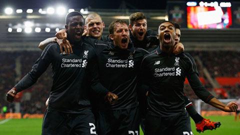 Vùi dập Southampton 6-1, Liverpool vào bán kết cúp Liên đoàn Anh