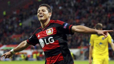 """""""Hàng thải"""" của M.U xuất sắc nhất Bundesliga tháng 11"""