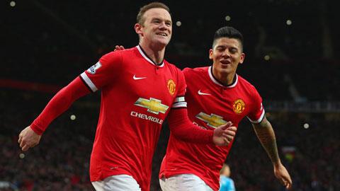 M.U mất Rooney và Rojo cho trận gặp West Ham vào ngày mai