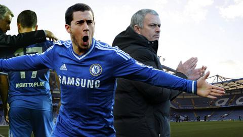 Với Mourinho, Hazard có thể đá ở mọi vị trí