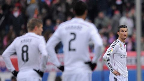 Real Madrid bị loại khỏi cúp Nhà Vua: Loạn!