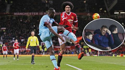 M.U đá nhanh hơn khi… thiếu Rooney