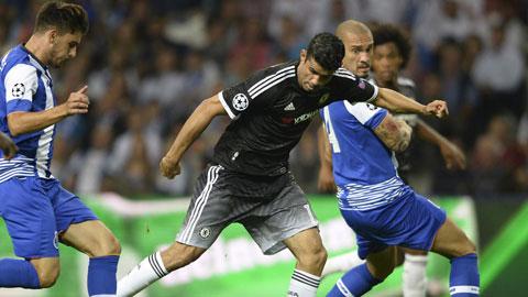 Đội hình dự kiến Chelsea - Porto vòng bảng Champions League