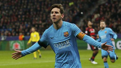 Messi ghi bàn, Barca thủ hòa Leverkusen 1-1