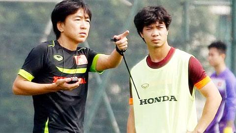 HLV Miura có lời khuyên quý giá cho Công Phượng, Tuấn Anh trước khi sang Nhật