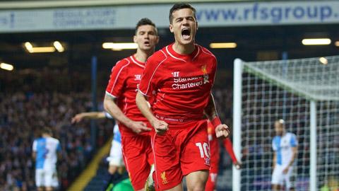 Đội hình dự kiến Liverpool - West Bromwich vòng 16 Ngoại hạng Anh