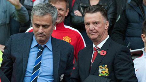 Mourinho, Van Gaal có nguy cơ mất việc cao nhất Ngoại hạng Anh