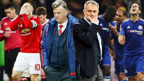 M.U và Chelsea cùng khủng hoảng: Ai tệ hơn?