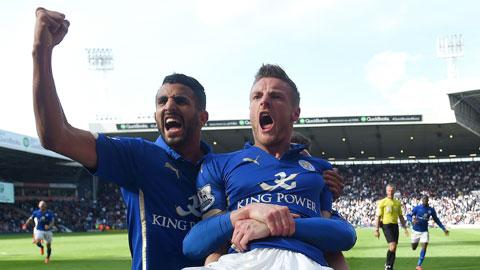Song sát Vardy - Mahrez lại tỏa sáng: Costa và Hazard của Leicester