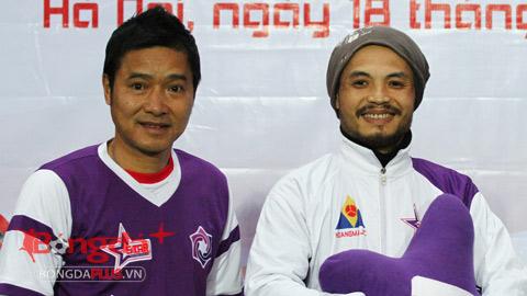 Hồng Sơn, Xuân Bắc tham gia trận đấu ủng hộ ca sĩ Trần Lập