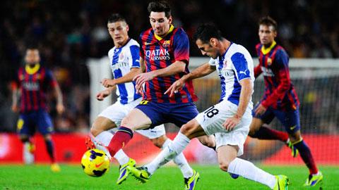 Barca đụng Espanyol ở vòng 1/8 Cúp Nhà vua Tây Ban Nha