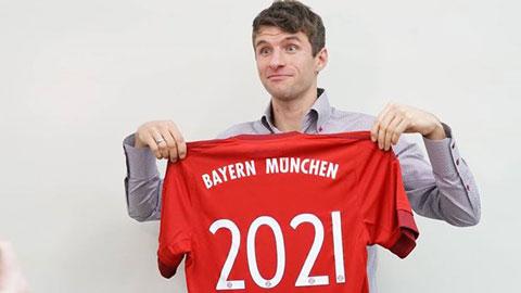 Bayern giữ chân thành công Mueller và 3 trụ cột khác