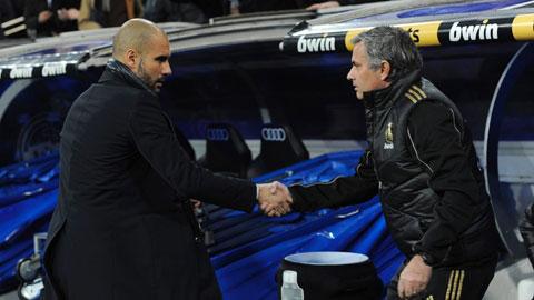 Mourinho và Guardiola mang thế chiến II đến thành Manchester