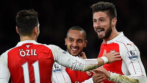 Arsenal: Thời cơ vô địch Ngoại hạng Anh đã sáng tỏ