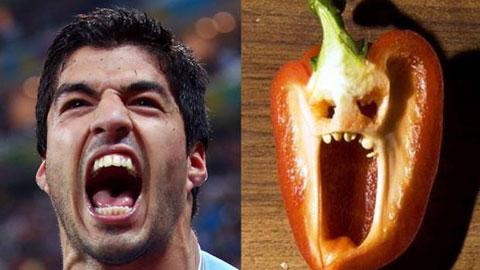 Sự giống nhau khó tin giữa cầu thủ bóng đá với... đồ ăn