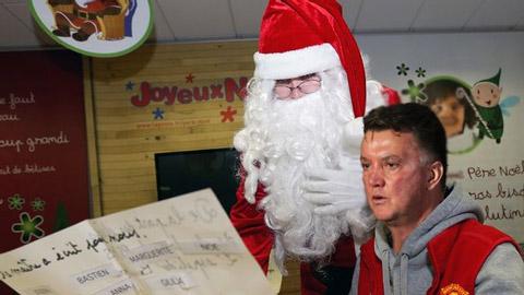 Van Gaal và bức thư gửi ông già Noel