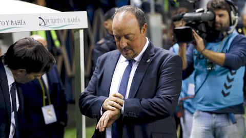 Thời gian đếm ngược với Benitez ở Real