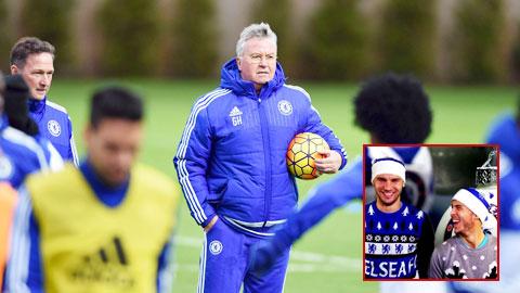 Sao Chelsea được Hiddink cho xả trại dịp Giáng sinh