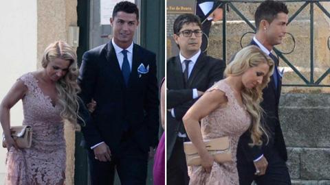 Ronaldo tính có con với... ái nữ của siêu cò Mendes