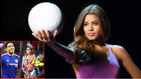 """Hoa hậu """"hụt"""" Ariadna Gutierrez xuất thân là VĐV bóng chuyền"""