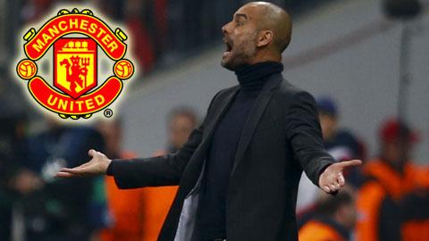 Guardiola muốn tới M.U hơn Man City