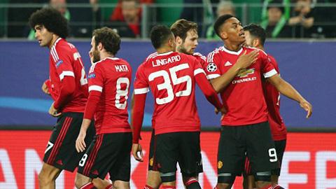 Đội hình dự kiến trận M.U - Stoke vòng 18 Ngoại hạng Anh