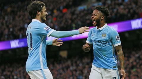 Man City 4-1 Sunderland: Man Xanh thắng đậm trong ngày Lễ tặng quà