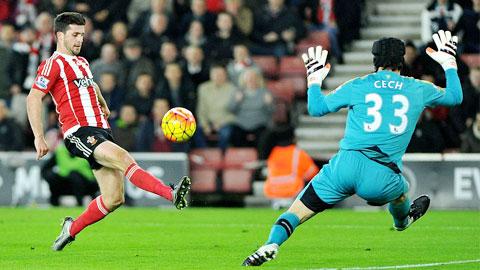 Thua 0-4 trước Southampton, Arsenal lỡ thời cơ chiếm ngôi đầu