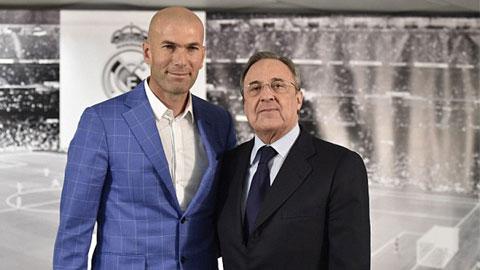 Real sa thải Benitez, bổ nhiệm Zidane làm HLV trưởng