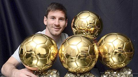 Messi và Ronaldo: Bóng vàng giống mà khác