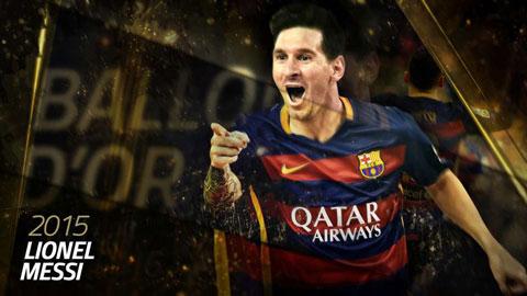 Lionel Messi, thợ săn Quả bóng Vàng