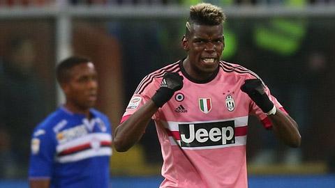 Juventus hạ gục Sampdoria, leo lên ngôi nhì bảng