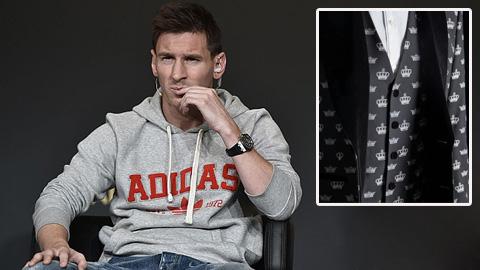 Lộ bộ cánh Messi sẽ diện tại Gala Quả bóng Vàng FIFA 2015