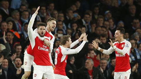 Arsenal mơ thành Barcelona và Bayern Munich