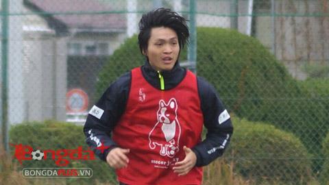 Yokohama đăng ký Tuấn Anh thi đấu J.League 2
