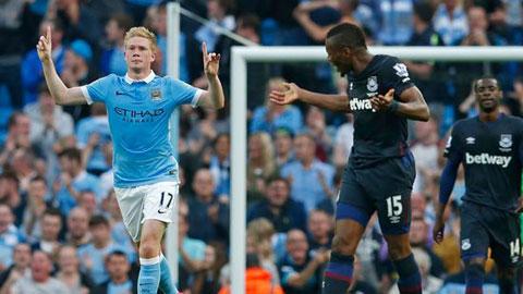 Đội hình dự kiến West Ham vs Man City vòng 23 Ngoại hạng Anh