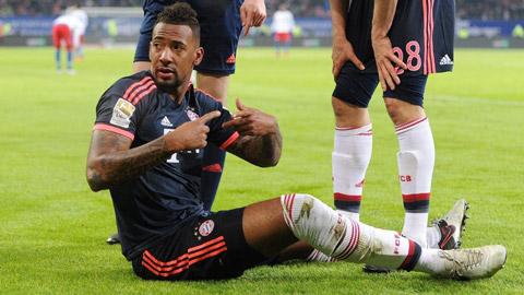 Bayern mất Boateng trong 3 tháng